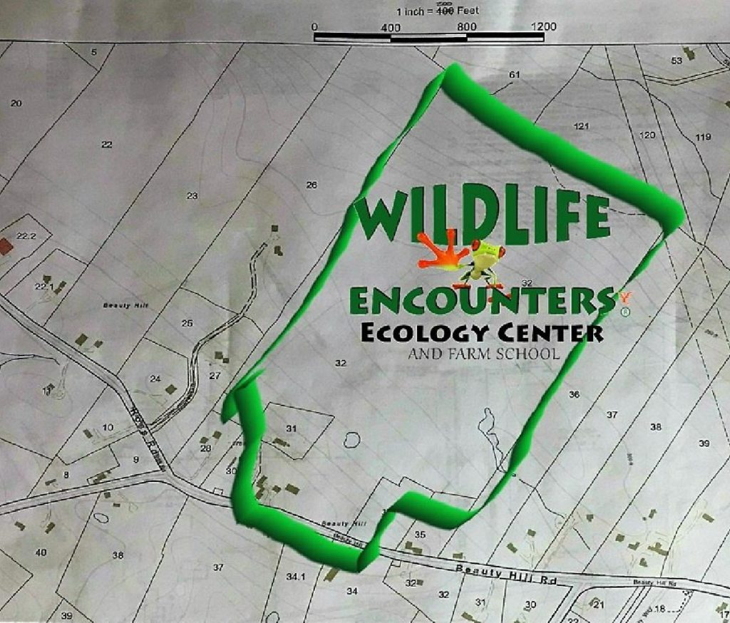 wildlife encounters ecology center and farm school map